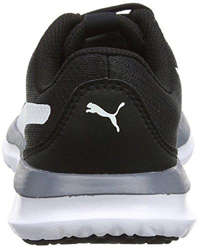 Puma Unisex-volwassenen Flex T1 Onthullen Sneaker Schwarz (rustig Schaduw-puma Wit-zwart)