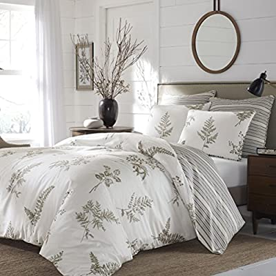 Stone Cottage Willow Cotton Comforter Set - Reversible bedding Made with cotton Contemporary style - comforter-sets, bedroom-sheets-comforters, bedroom - 51pf bk5SZL. SS400  -