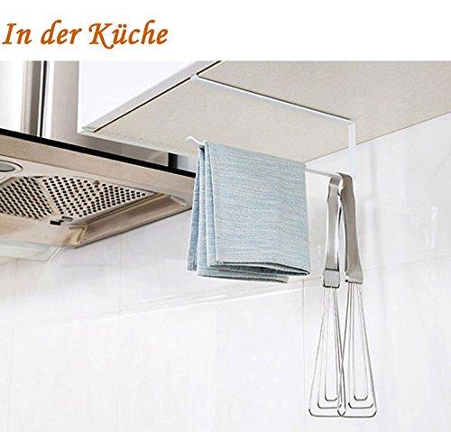 Risingmed Toilettenpapierhalter ohne Bohren, Papier Handtuchhalter Halter für Badezimmer Tissue Roll Hanger