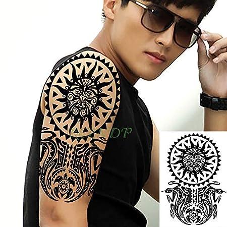 3 Pcswaterproof Etiqueta engomada del Tatuaje del Brazo Tatto ...