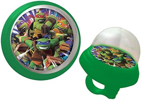 Timbre con trompeta para bicicleta niño Tortugas Ninja Turtle ...