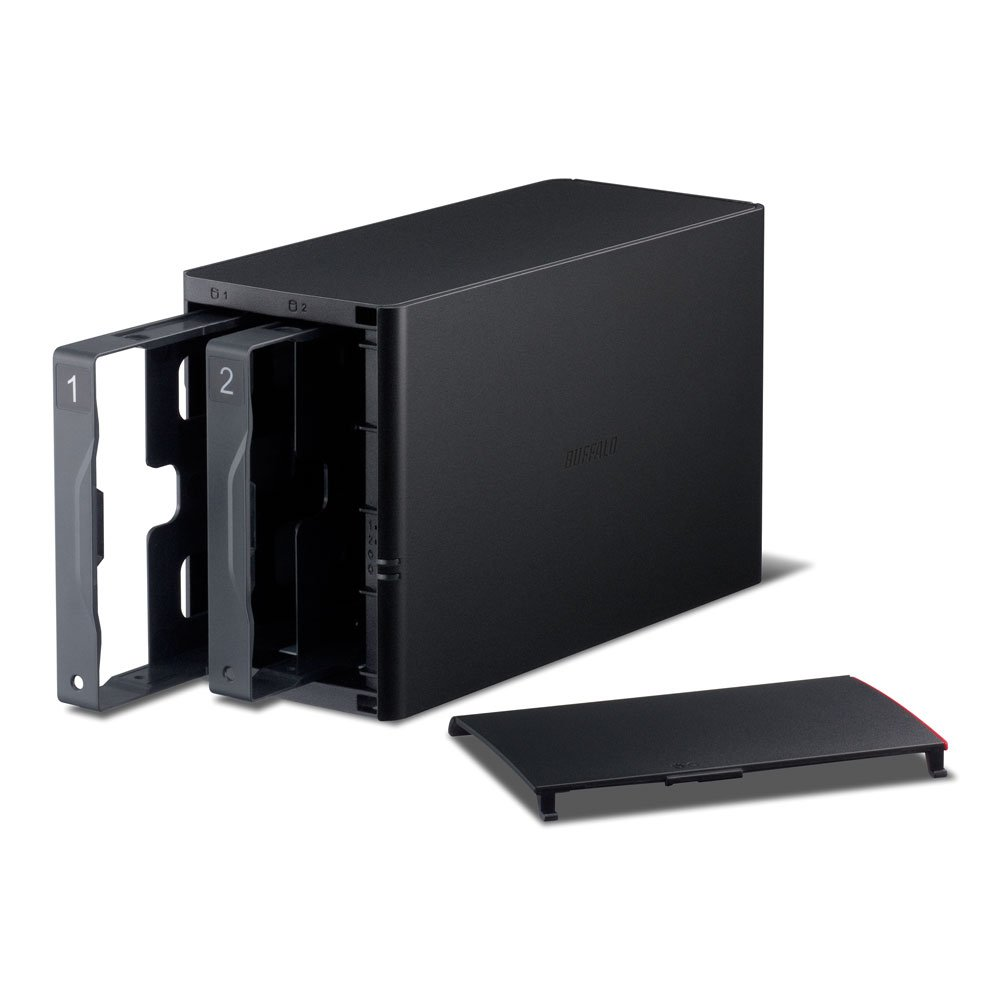 LinkStation 220DE Personal Cloud Storage 0TB Diskless Enclosure