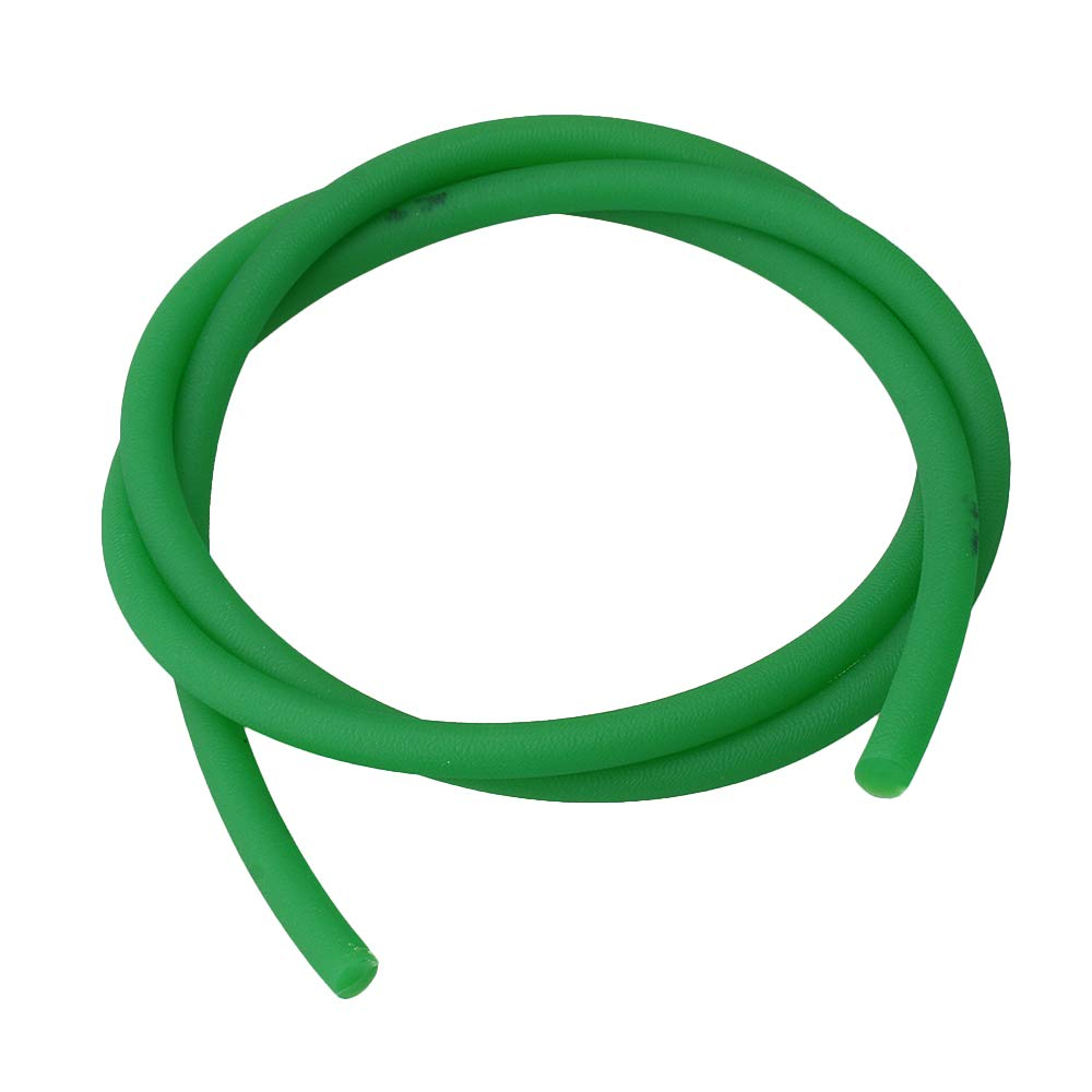 Homeswitch 1m Length 7mm Diameter Green PU Material Round Belt Timing Belt for V Shape Groove Pulley Drives
