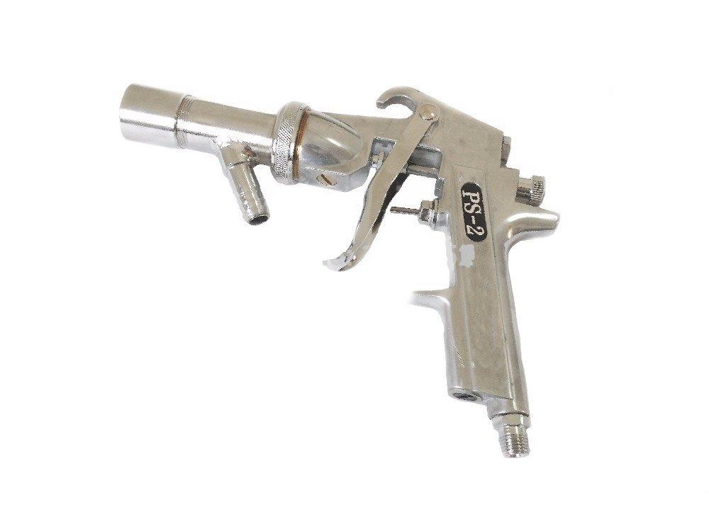 Driak PS-2 Air Sand Blasting Gun Kit Air Sandblaster Spray Gun Suitable For Glass,Aluminum and Other