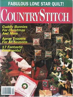 Arts Magazine Stitch Quilting (CountryStitch Magazine November/December 1992 Vol. 5 No. 4)