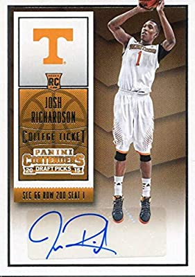 Josh RIchardson Autographed 2015-16 Panini Contenders Rookie Card -  Basketball Slabbed Autographed Rookie Cards 400519f3d