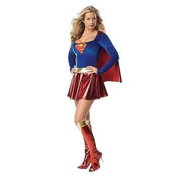 Superwoman Kostum L 42 44 Superhelden Karnevalkostum Damenkostum