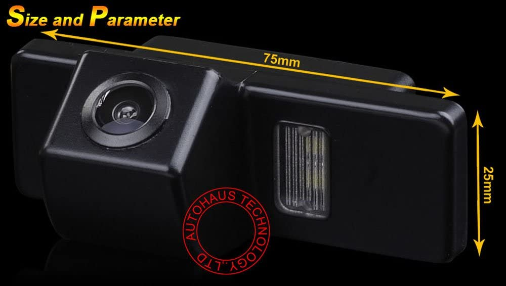 Super HD Vehicle Camera 1280x720 Pixels 1000 TV Lines 170 Wide Angle Night Vision Rear View Camera Reverse Parking for Nissan Qashqa X-Trail Geniss Navara Sunny Citroen C4 C5 Peugeot 307 308CC 1007