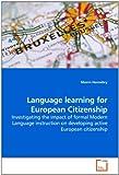 Language Learning for European Citizenship, Mairin Hennebry, 363925743X