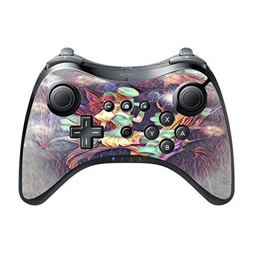 [Pixie Lady Fairytale Printed Design Wii U Pro Controller Vinyl Decal Sticker Skin by Smarter] (Pixies Costumes)