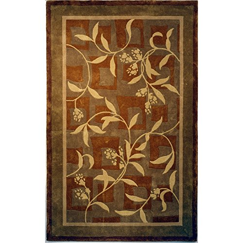 Safavieh Rodeo Drive Collection RD874A Handmade Abstract Multicolored Wool Area Rug (7'6