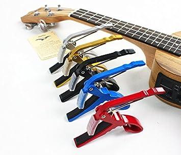 Banjo doboa cambio rápido para guitarra eléctrica acústica Folk cejilla llave abrazadera: Amazon.es: Instrumentos musicales