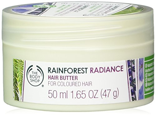 The Body Shop Rainforest Radiance Hair Butter, 1.65 Fluid Ou