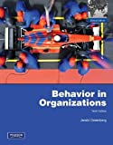 Behavior in Organizations by Jerald Greenberg (25-Nov-2010) Paperback
