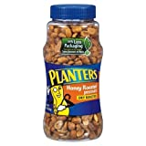 Planters Peanuts Honey Roasted Dry Roasted 16 OZ (Pack of 24)