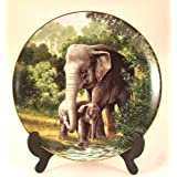 WS George plate The Asian Elephant by Will Nelson CP769
