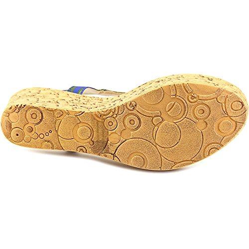 Keilabsätze Barton Sandale Blumenmuster Callisto Textile qEAwnCxz