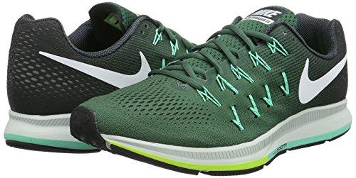 Nike 831352-300, Zapatillas de Trail Running para Hombre, Verde (Green Stone / White-Seaweed-Green Glow), 47 EU Verde (Green Stone / White-Seaweed-Green Glow)