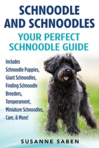 Schnoodle And Schnoodles: Your Perfect Schnoodle Guide Includes Schnoodle Puppies, Giant Schnoodles, Finding Schnoodle Breeders, Temperament, Miniature Schnoodles, Care, & More!