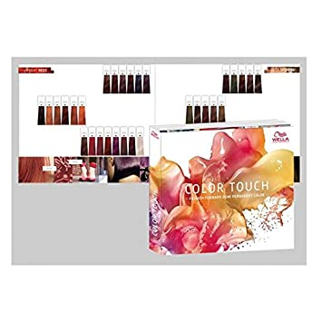 Wella Professional Color Touch Shade Colour Chart Guide Amazon