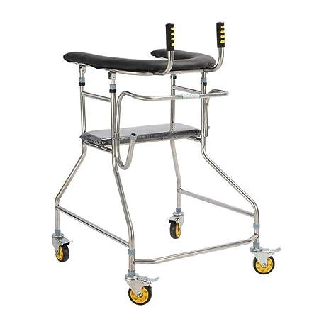 Andador para Ancianos Walker, Soporte ajustable de altura ...