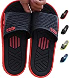 HAOJIALI Shower Shoes Slippers Men's House Sandal Slide Bath Indoor Pool Beach Garden Quick Drying Home Swimming Summer