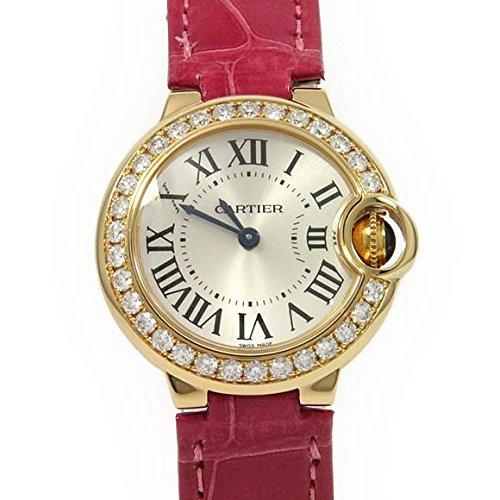 [カルティエ] Cartier WE900151 バロンブルー YG/D クォーツ(2600024662680) 中古 B07B49RS6K