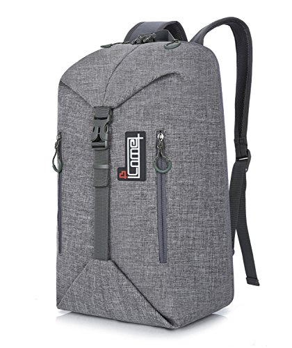 Waterproof Travel Business Backpack Packs Fits up to 17 Inch Notebook Tablet Computer Bckpack Bags (Grey) For Sale