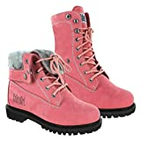 Safety Girl GS008-Pink-FT-9.5M Madison Fold-Down Work Boot - Pink Soft Toe 9.5M, English, Capacity, Volume, Leather, 9.5M, Pink ()