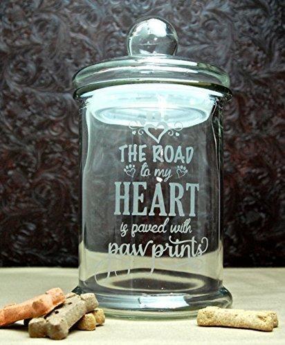 Personalized Dog Treat Jar - 4