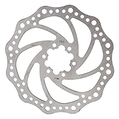 BRAKE PART OR8 DISC ROTOR 160mm 6b w/BOLTS