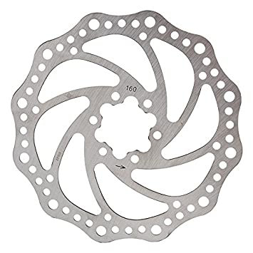 Brake Part Or8 Disc Rotor 160mm 6b W Bolts Bike