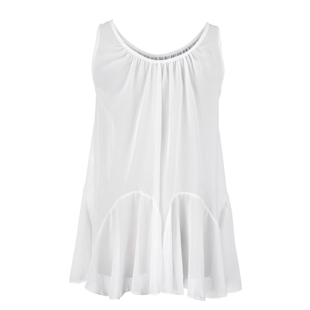 blouses for women blouse chiffon polka dot peasant sleeveless lace white floral sexy red ruffle girls saree elegant short sleeve peplum silk dirndl (Small,White)