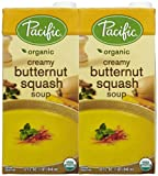 Pacific Natural Foods Creamy Butternut Squash Soup, 32 oz - 2 pk