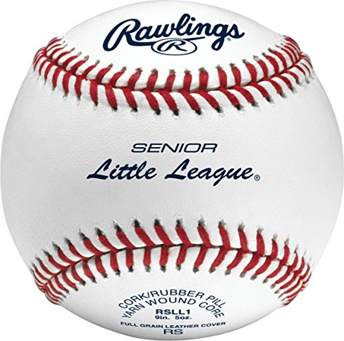 (Rawlings Raised Seam Baseballs, Senior Little League Competition Grade Baseballs, Box of 12 , RSLL1 )