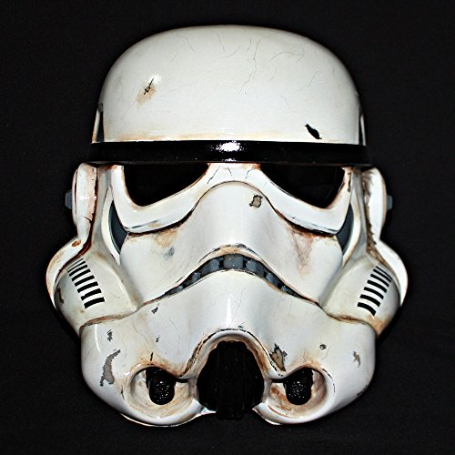 [1:1 Custom Halloween Costume Cosplay Prop Star Wars Stormtrooper Helmet Mask MA198] (Storm Costume Cosplay)