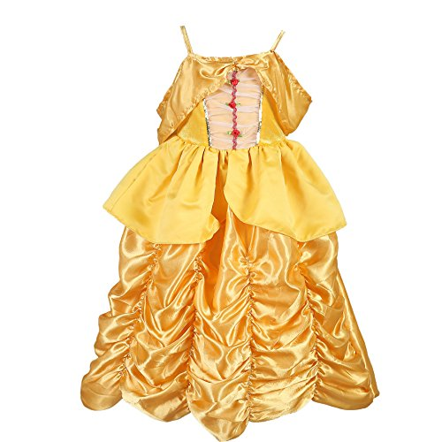[Tutu Dreams Belle Princess Costume (3T)] (Belle Halloween Costumes For Women)