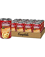 Campbell's Chunky Creamy Chicken & Dumplings Soup, 18.8 Ounce (Pack of 12)