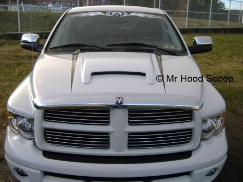Dodge Ram Rumble Bee Hood Scoop Kit OE Dimension. FITS 2002-2008 1500 & 2003-2009 2500/3500 UNPAINTED #HS006 by SEM (Image #4)