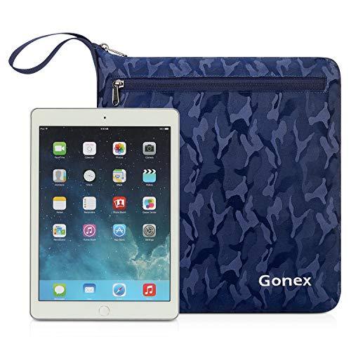 Gonex 100L Foldable Duffel, Packable Luggage Duffle Bag Lightweight Water Repellent & Wear Resistant, Packable Luggage Duffle Bag Lightweight Water Repellent & Wear Resistant Black and Blue Camouflage