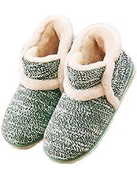 Winter Vintage Boot Slippers Arctic Solid Indoor