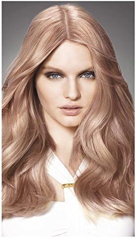 L Oréal Preferencia INFINIA 8.23 brillante oro rosa permanente tinte de pelo, pack de 3
