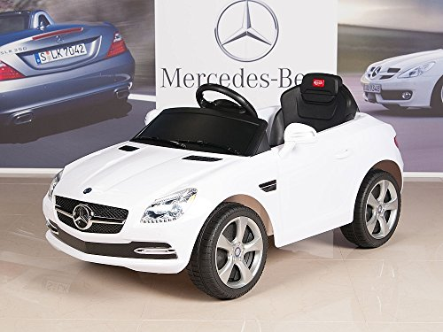 Mercedes benz slk350 kids ride on car 6v battery powered for Mercedes benz service charges