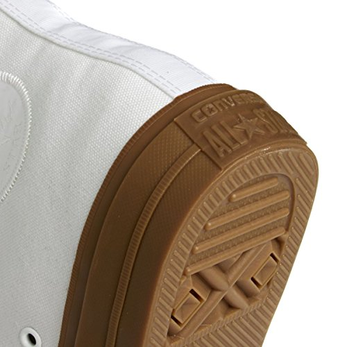 Converse Hombres Chuck Taylor Ii Hi Gum Pack Zapatillas De Lona Blancas