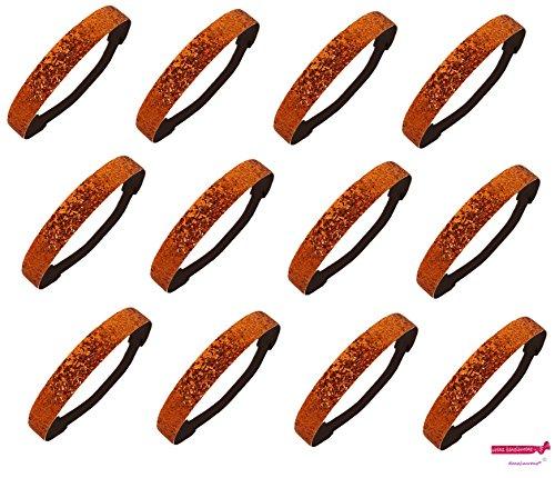 12 Pack Headbands Activewear 12 Orange product image