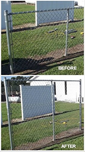 chain link fence post. EXTEND-A-FENCE Fence Extender - 1-7/8\u0026quot; TO 2\u0026quot Chain Link Post A
