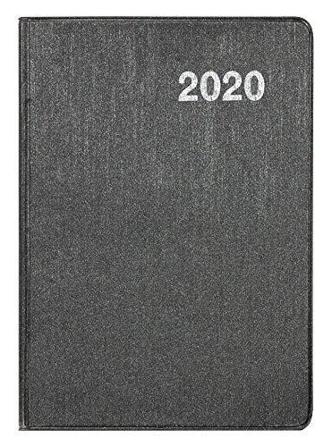 Idena 11491 - Agenda de bolsillo 2020, A7, color plateado ...