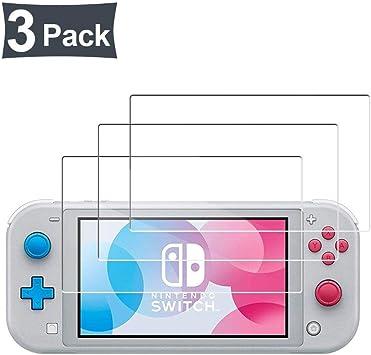 PZEMIN 3 Piezas Protector Pantalla para Nintendo Switch Lite ...