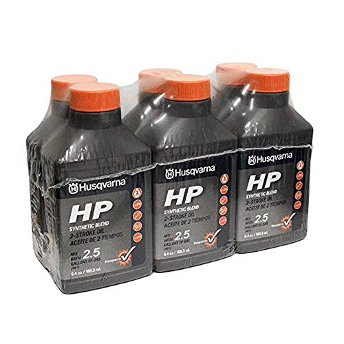 (Husqvarna HP 2 Stroke Oil 6.4 Bottle 6-Pack 593152603)