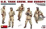 Mini Art(ミニアート) アメリカ戦車兵セット 北西ヨーロッパ戦線 (5体入り) (プラモデル)